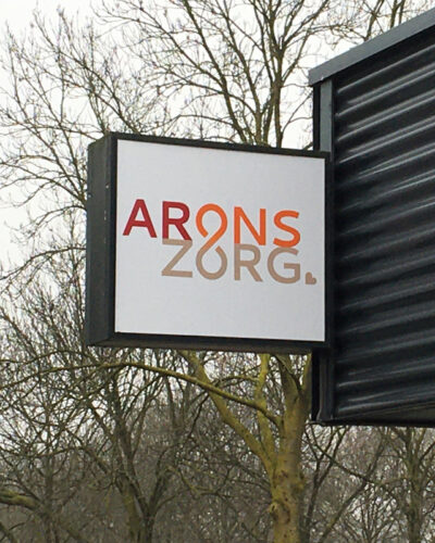 Complete rebranding Arons Zorg